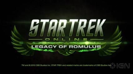 Star Trek: Online- Legacy of Romulus Launch Trailer I G N
