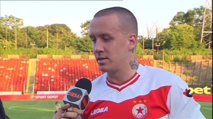 Тончи Кукоч е играч на мача ЦСКА - Литекс 3:1