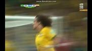 Бразилия 2:1 Колумбия (бг аудио) Мондиал 2014