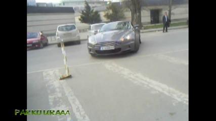 Aston Martin Dbs в действие ! (в София) *hq