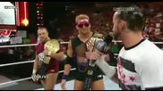 Wwe Raw: Cm Punk, Daniel Bryan and Zack Ryder Championship of Wwe Segment!