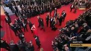 """Крис на премиерата на """" Космополис"""" в Кан"""