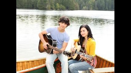 *нова песен* Demi Lovato и Joe Jonas - I Wouldnt Change a Thing от Camp Rock 2 The Final Jam