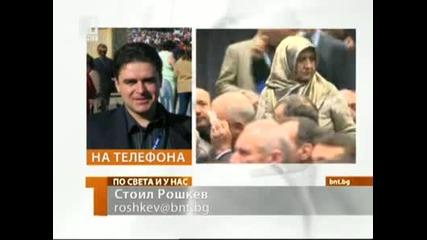 Ахмед Доган беше нападнат по време на конференцията на Дпс 19.01.2013