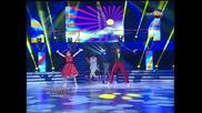 Dancing Stars - Нана и Мирослав куикстеп (01.04.2014г.)