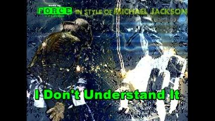 Michael Jackson - Working Day And Night Karaoke