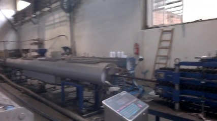 Used Extrusion Line For Pipes 40 mm to 110 mm