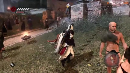Ac:brotherhood Desmond and Ezio gameplay