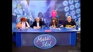 Music Idol 2 - Иван И Андрей Се Подиграват На Момиче Със Смешен Глас