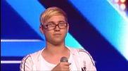 Асан Саров и Георги Бенчев изпълняват Wrecking Ball - X Factor Bulgaria (09.09.2014)