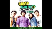 New Song - Camp Rock 2 - Cant Back Down