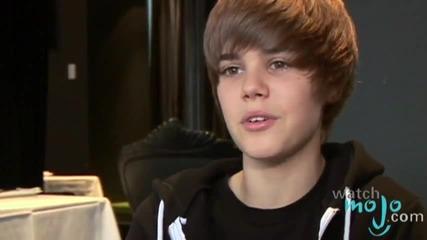 Интервю с Justin Bieber