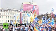 Scotland: Pro-independence Glaswegians hold rally one-year since they lost indyref