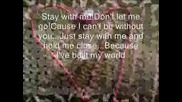 Danity Kane - Stay With Me {s Text}
