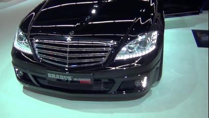 Mercedes ibusiness от Brabus - Колата на Стив Джобс