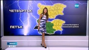 Прогноза за времето (20.08.2015 - сутрешна)
