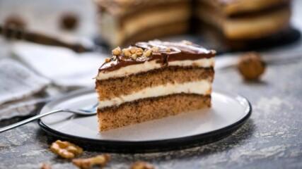 Орехова торта с шипков мармалад | Бон Апети | 24Kitchen Bulgaria