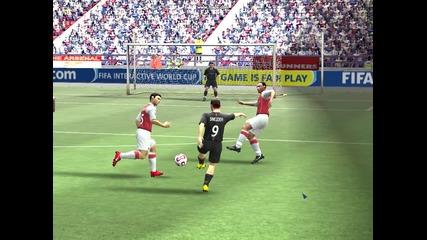 Fifa 08 greda na Sneijder