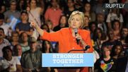 Clinton Promises New Jobs and Economic Opportunities if Voted In