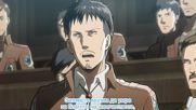 Shingeki no Kyojin Епизод 14 [bg subs][hd]
