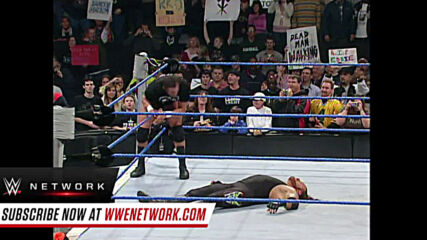 Randy Orton and The Undertaker crash into the SmackDown set: SmackDown, Nov. 29, 2005
