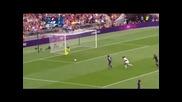 Женски футбол- Япония- Франция 2:1,1/2финал, Олимпийски игри Лондон 2012
