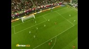 гол на C.fabregas срещу Ирландия