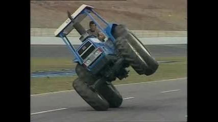 Трактор кара на две гуми.