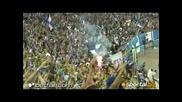 Сектор Б полудя след гола на Гара Дембеле на мача Левски - Аик !!!