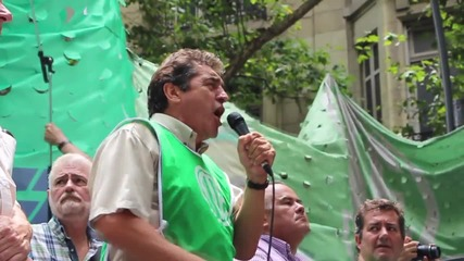 Argentina: Public workers strike against planned mass layoffs in Buenos Aires
