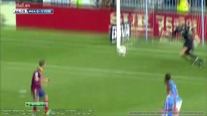 Прекрасният гол на Адриано срещу Малага !