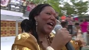 Boney M feat Liz Mitchell - Brown Girl In The Ring - 18 May 2014 - Zdf Fernsehgarten