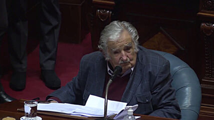 Uruguay: Famed ex-President Jose Mujica leaves Senate after resignation