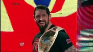 Bad News Barrett attacks Rob Van Dam: Raw, May 19, 2014