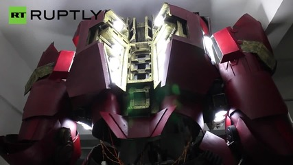 Check Out the 11 Foot Tall 'Avengers' Hulkbuster Suit