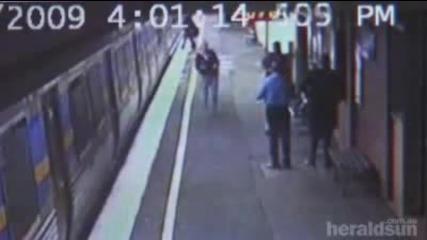 - Газят бебе в метрото