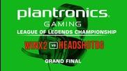 WinX2 vs HEADSHOTBG - Finals Plantronics League of Legends Championship