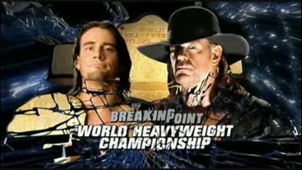 Breaking Point 2009 Undertaker Vs Cm Punk