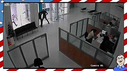 Несполучлив банков обир, заснет на камера!
