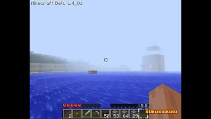 Как се прави лодка в minecraft