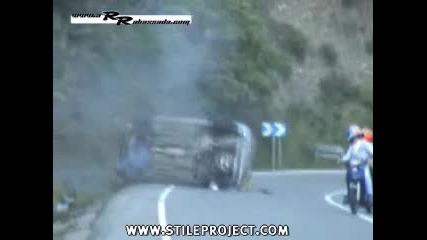 Peugeot 206 - Катастрофа