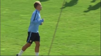 Атлетико Мадрид тренира за поредния сблъсък срещу Реал