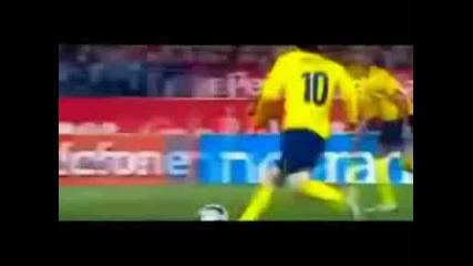 Ronaldo Real Madrid V Messi Barcelona New 2009 +{hd}