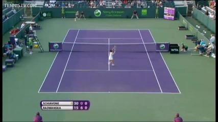 Най - немъзможният удар в женския тенис