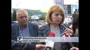 """Ремонтът на трамвайния път по бул. """"България"""" ще приключи до края на юни"""