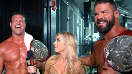 Dolph Ziggler & Robert Roode celebrate championship coronation: WWE.com Exclusive, Sept. 15, 2019