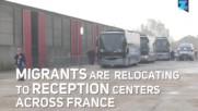 Стотици мигранти бяха изведени от 'джунглата' Кале