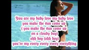 Nicole Scherzinger - Baby Love (lyrics)