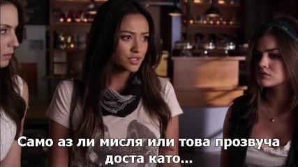 Малки сладки лъжкини сезон 6 епизод 10 + Бг Субтитри Pretty little liars season 6 episode 10 bg sub