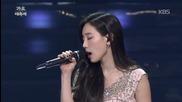 Taeyeon & Hwanhee ( Ftts ) - Like A Star @ 2014 Kbs Gayo Daechukje